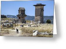 Xanthos - Turkey Greeting Card