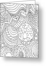 Zendoodle Design Greeting Card