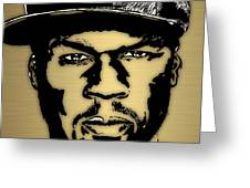 50 Cent Collection Greeting Card