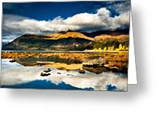 Art Landscape Greeting Card