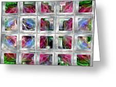 20 Deco Windows Greeting Card