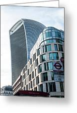 20 Fenchurch Street A Commercial Skyscraper In London Greeting Card