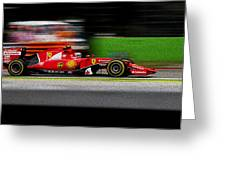 Ferrari Formula 1 Monza Greeting Card