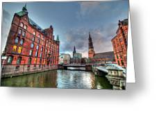 Hamburg Germany Greeting Card