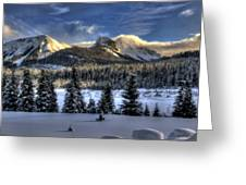 Landscape Art Greeting Card