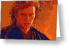 Original Star Wars Poster Greeting Card