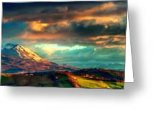 P W Landscape Greeting Card
