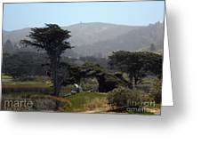 Sharp Park, Pacifica Greeting Card
