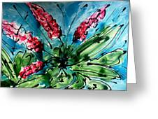 The Divine Flower Greeting Card