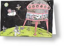 2001 A Swine Odyssey Greeting Card