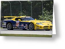2003 Dodge Viper Gts-r At Road America Greeting Card