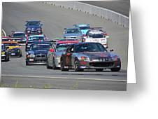2003 Honda S2000 Leads Pack Greeting Card
