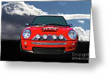 2004 S Mini Cooper Greeting Card