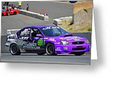 2004 Subaru Wrx Sti Greeting Card