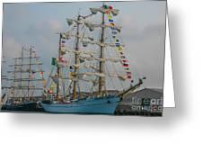 2004 Tall Ships Greeting Card
