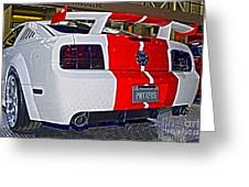 2006 Ford Mustang No 2 Greeting Card