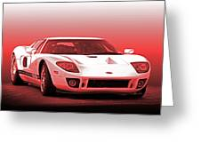 2006 Ford Production Gt Ia Greeting Card