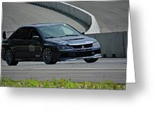 2006 Mitsubishi Evo Greeting Card