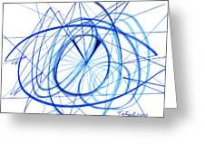 2007 Abstract Drawing 3 Greeting Card