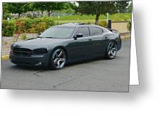 2007 Dodge Charger Rt Lee Greeting Card