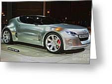 2007 Honda Remix Concept  Greeting Card