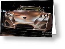 2007 Lexus Lf-a Exotic Sports Car Concept No 2 Greeting Card