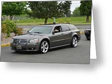 2008 Dodge Magnum Lasswell Greeting Card