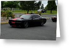2009 Challenger Rt Lind Greeting Card