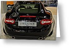 2009 Jaguar Xk Greeting Card