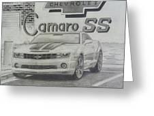 2010 Chevrolet Camaro Ss  Greeting Card