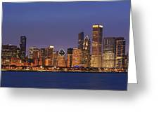 2010 Chicago Skyline Greeting Card