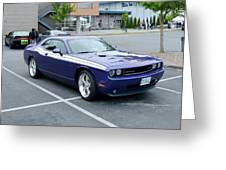 2010 Dodge Challenger Rt Lyster Greeting Card