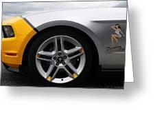 2010 Ford Mustang Av X10 2 Greeting Card