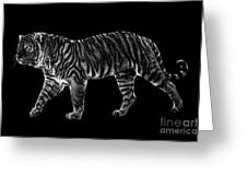 Tigers Gait Greeting Card