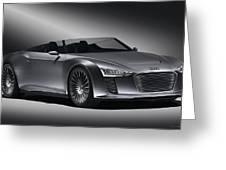 2011 Audi Etron Spyder Greeting Card