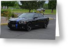 2011 Dodge Charger Rt Lopez Greeting Card