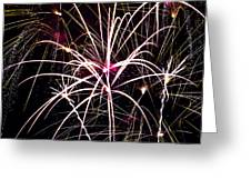 2011 Fireworks Greeting Card