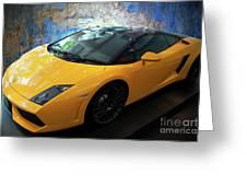 2011 Lamborghini Gallardo Lp560-4 Bicolore 2 Greeting Card