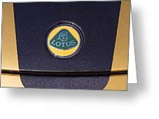 2011 Lotus Euora Emblem Greeting Card