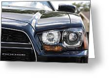 2012 Dodge Charger Greeting Card