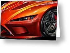 2012 Falcon Motor Sports F7 Series 1  Greeting Card