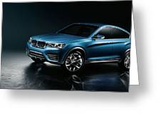 2013 Bmw X4 Concept  1 Greeting Card