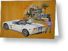 2013 Chevrolet Corvette Greeting Card