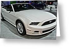 2013 Ford Mustang No 1 Greeting Card
