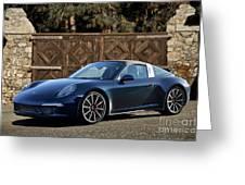 2014 Porsche 911 Targa 4s I Greeting Card