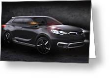 2013 Ssangyong Siv 1 Concept Greeting Card