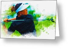 2014 Blue Bay Lpga Championship  Greeting Card