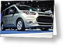 2014 Ford Transit Connect Wagon Greeting Card