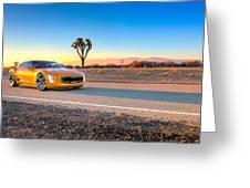 2014 Kia Gt4 Stinger Concept Greeting Card