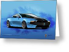 2014 Mustang  Greeting Card